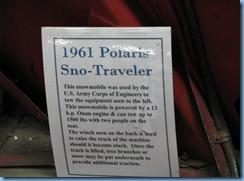 5150 Michigan - Sault Sainte Marie, MI - Museum Ship Valley Camp - info on 1961 Polaris Sno-Traveler