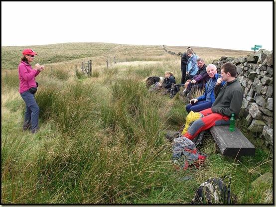Barbara gives a speech at Turton Moor