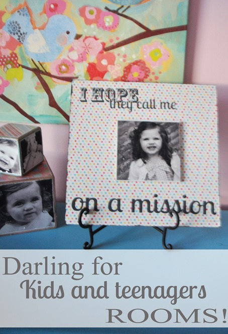 Super-saturday craft project - layered missionary plaque
