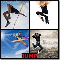JUMP- 4 Pics 1 Word Answers 3 Letters