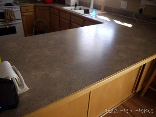 Countertop Makeover : Countertop Makeover With Giani Granite Paint Refinishing Kit
