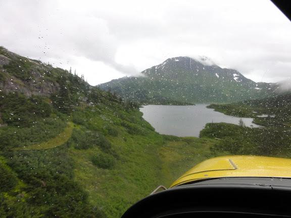 Paradise Lake, Alaska - short final