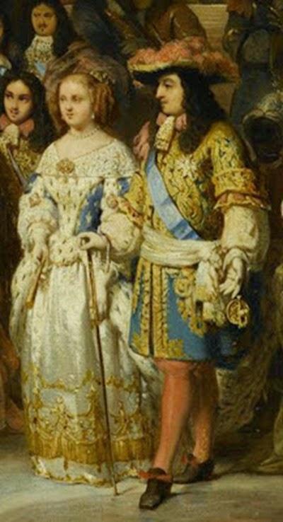Luis xiv y maria teresa