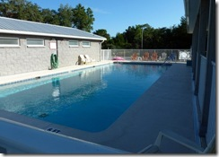 Pool at Cedar Key RV
