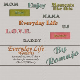 Everyday Life - Words