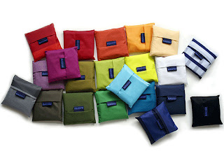 Baggu Nylon Bags in pouch assorted colors $10.00
