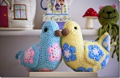 Crocheted Lemon Birdie2