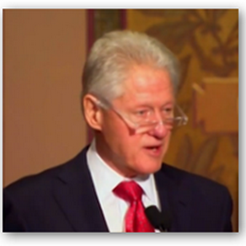 """Bill Clinton States He's Tired of Being """"Click Bait"""" for the News Media When It Comes to News Articles About Obamacare and the ACA"""