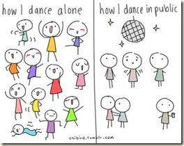 how i dance