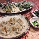 山菜ディナー
