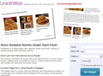 Related Posts for Blogger by LinkWithin