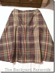 plaid skirt 01