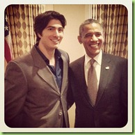 Obama Brandon routh clark kent
