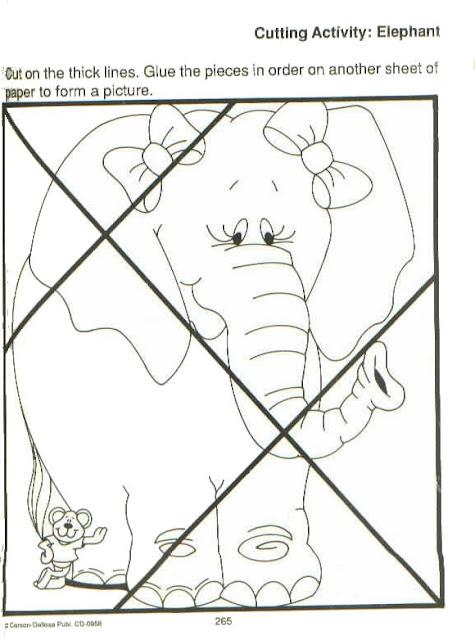 ROMPECABEZAS DE ANIMALES PARA PINTAR TU MISMO
