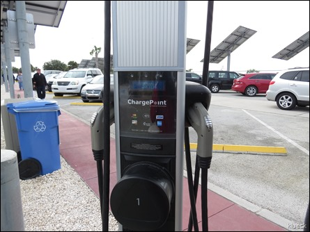 charge your electric car...for a fee