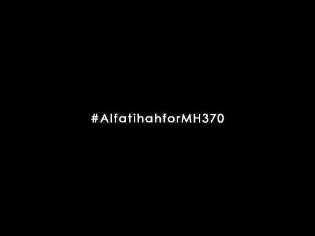 MH370... PATAHNYA SAYAP MALAM