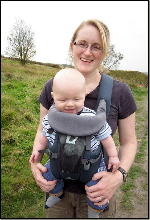 Kate and Jake at Crompton Fold