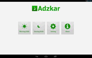 Screenshot of Adzkar - Morning Evening Dhikr