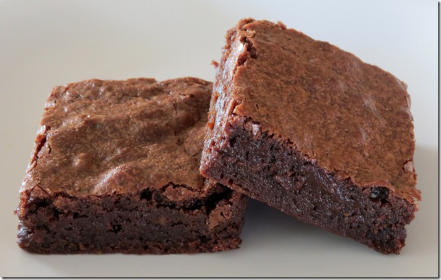 TWD--Best Ever Brownies  (not chilled) 11-19-12