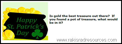 Free St. Patrick's Day Writing Prompt