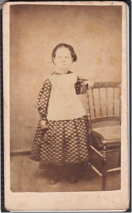 Ella Eliza Engle as a Child