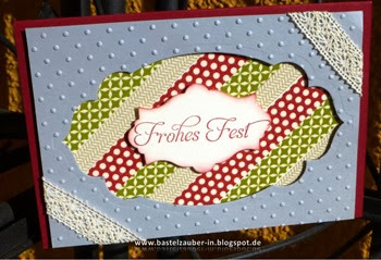 Frohes Fest Washi Tape-fertig