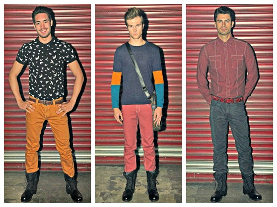 folded and hung lookbook male
