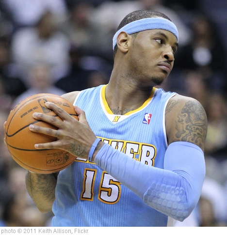 'Carmelo Anthony' photo (c) 2011, Keith Allison - license: http://creativecommons.org/licenses/by-sa/2.0/