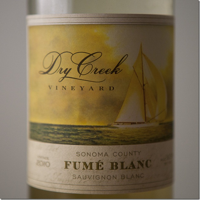 2010 Dry Creek Vineyard Sonoma County Fume Blanc
