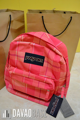 Youthful pink Jansport backpack from Bratpack Abreeza