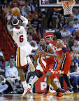lebron james nba 130106 mia vs was 10 King James Debuts LBJ X Portland PE But Ends Scoring Streak
