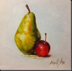 Pear and Crabapple 2
