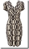 Wallis Tribal Print Wrap Dress