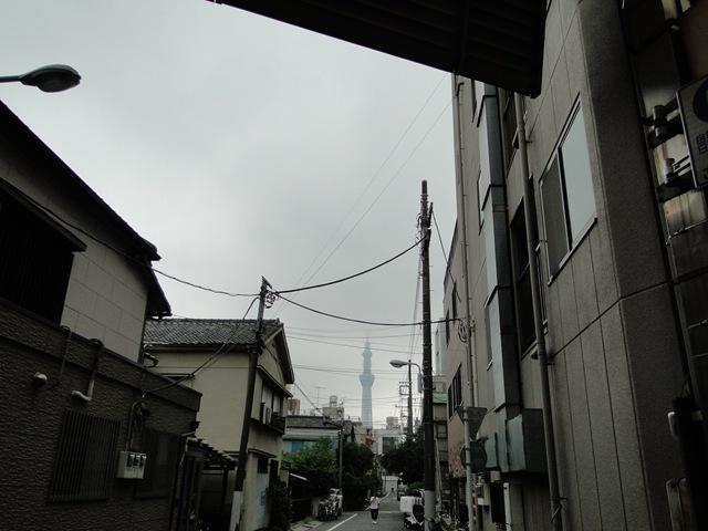 南千住街頭晴空塔
