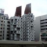 interesting architecture in tokyo in Tokyo, Tokyo, Japan