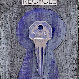 Recycle These - Artist Trading Card