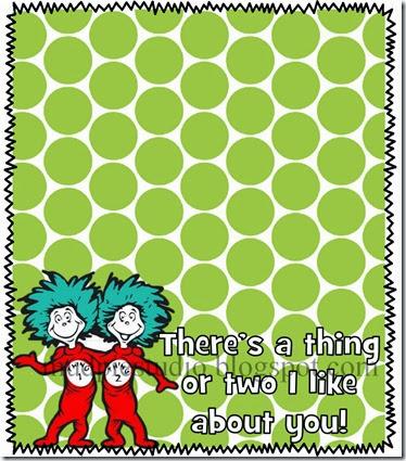 Dr Seuss Printable Labels by mudpiestudio