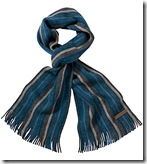 Ted Baker Wool Strips Scarf