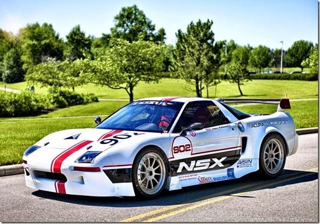 Acura NSX Pikes Peak Race Car