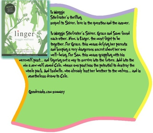Goodreads summary box for Linger by Maggie Stiefvater