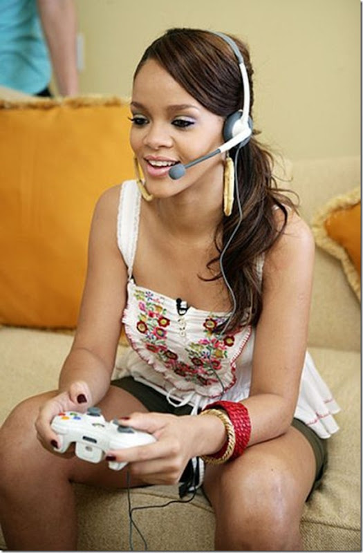 Lindas garotas viciados em video games (24)