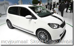 2012 Autosalon Geneve - Skoda Citigo Ambition GreenTec