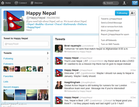 new twitter happy nepal
