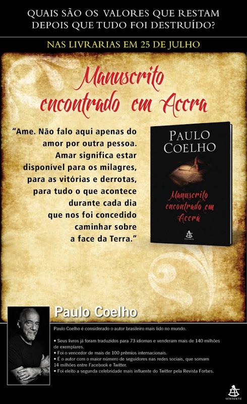 Accra Paulo Coelho