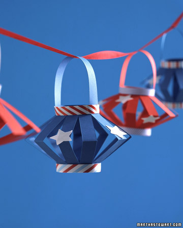 A garland of star-spangled paper lanterns is festive and fun for kids to make.  <http://www.marthastewart.com/photogallery/patriotic-crafts#slide_12>