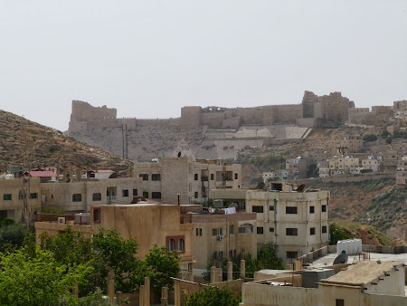 Obiective turistice Iordania: cetatea Karak