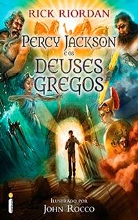 Percy Jackson e os Deuses Gregos, por Rick Riordan