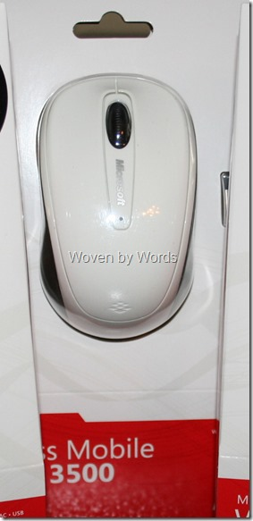 Microsoft Mobile Mouse 3500