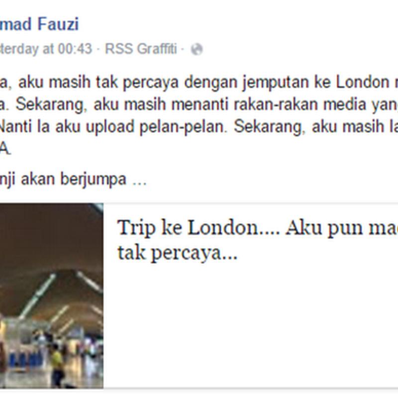 Buat blog dapat gi LONDON kau !