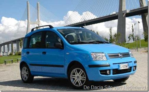 Fiat Panda - Dacia Sandero